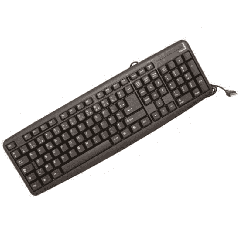 CLAVIER 102 TOUCHES URBAN FACTORY CLAVIER FILAIRE USB AZERTY