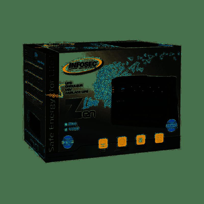 INFOSEC Onduleur Zen Live 500